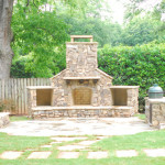 Outdoor Fireplace and Firepit - 17