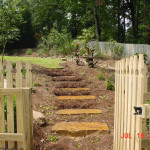 Retaining Walls and Steps - 11