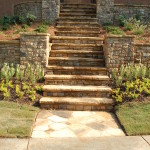 Retaining Walls and Steps - 13