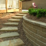 Retaining Walls and Steps - 17