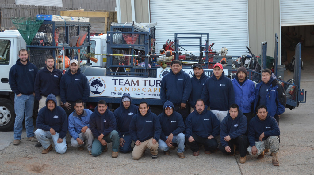 Team Turf Landscapes Crew