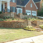 Retaining Walls and Steps - 12