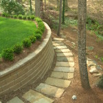 Retaining Walls and Steps - 16