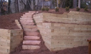 Retaining Walls and Steps - 28